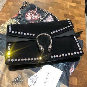 Gucci NWT Handbag w Crystals and Horsebit